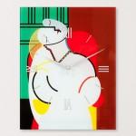 임프레이션 피카소의꿈-피카소 벽시계