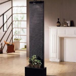 LED 벽천분수대(대)-블랙